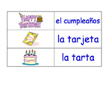 Celebrations and Christmas in Spanish Flash Cards