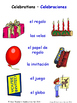 Celebrations and Christmas in Spanish Matching Activities
