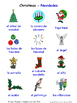Celebrations and Christmas in Spanish Word searches / Wordsearches