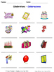 Celebrations and Christmas in Spanish Worksheets