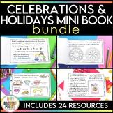 Celebrations and Holidays Mini Book {BUNDLE}