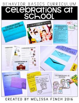 Celebrations at School- Behavior Basics Program for Special Education
