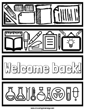 Celebratory Bookmarks (and two activities) ready for coloring!