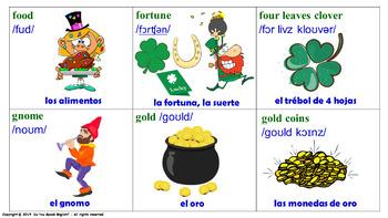Celebremos el Día de San Patricio (Lotería)