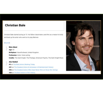 Celebrities Who Were Bullied Slideshow FREE:  26 Celebs to Motivate Students!