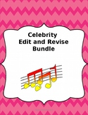Celebrity Edit/Revise Passages STAAR PREP Bundle