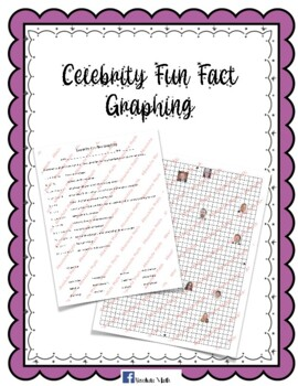 Celebrity Fun Facts Graphing.