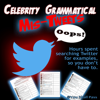 Celebrity Grammatical Mis-Tweets