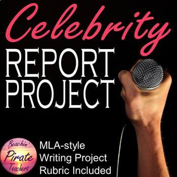 Celebrity MLA-style Report Project
