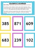 Celebrity Numbers Place Value Maths Game