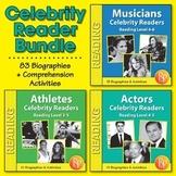Celebrity Readers: High-Interest / Low Readability Biographies {Bundle}