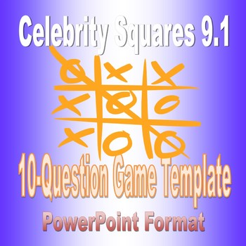 Celebrity Squares 9.1 Game Template