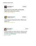 Celebrity Twitter mistakes