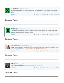 Celebrity Twitter mistakes (Country musicians/artists and athletes)