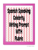 Celebrity Writing Prompt in Spanish - Physical Description