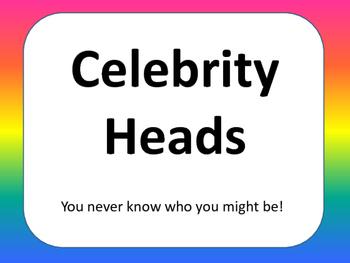 Celebrity heads