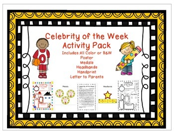 Celebrity of the Week Pack