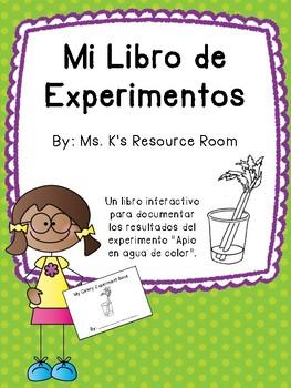 Celery Experiment Book SPANISH VERSION