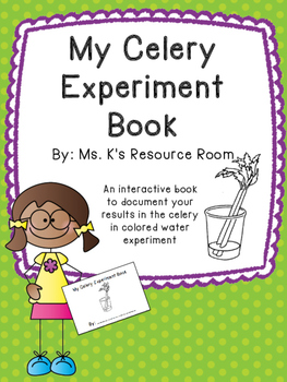 picture relating to Celery Experiment Printable Worksheet known as Celery Experiment Worksheets Instruction Products TpT