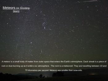 The OzE Teacher - Celestial Bodies