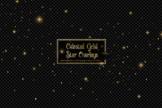 Celestial Gold Star Overlays
