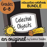 Celestial Objects Interactive Notebook Doodle BUNDLE - Sci
