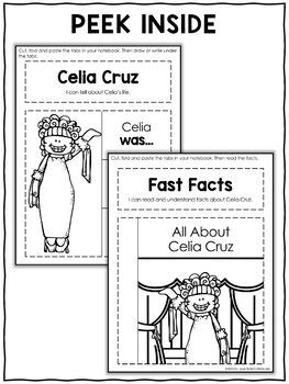 Interactive Notebook - Celia Cruz Activities