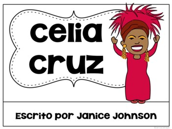 Celia Cruz & Jennifer López Readers {Hispanic Heritage Month} Bilingual Bundle
