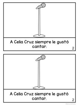 Celia Cruz & Jennifer Lopez Spanish Readers {Hispanic Heritage Month}