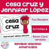 Celia Cruz & Jennifer Lopez Spanish Readers {Hispanic Heritage Month}