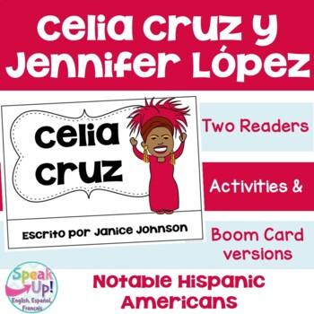 Celia Cruz & Jennifer Lopez Spanish Readers {Hispanic Heri