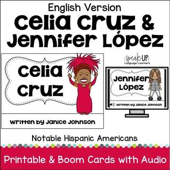 Celia Cruz & Jennifer Lopez Readers {Hispanic Heritage Month}in English