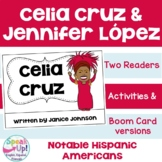 Celia Cruz & Jennifer Lopez Readers {Hispanic Heritage Month}in English