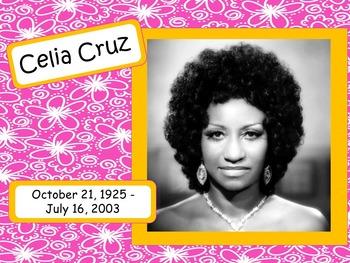 Celia Cruz: Musician in the Spotlight