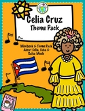 Celia Cruz Spanish Minibook and Activity Theme Pack