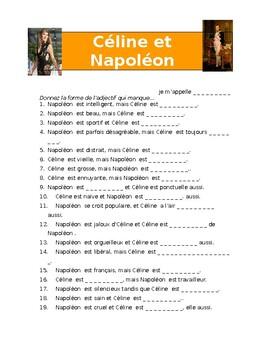 Celine et Napoléon