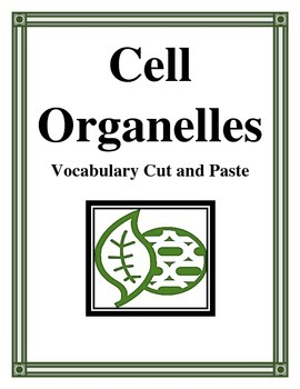 CELL ORGANELLES VOCABULARY