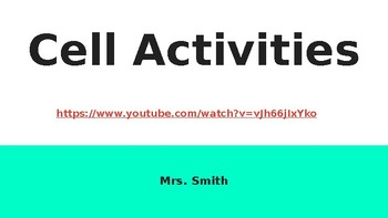 Cell Activities PPP