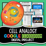 Cell Analogy Project - Science Google Classroom - Cell Organelles
