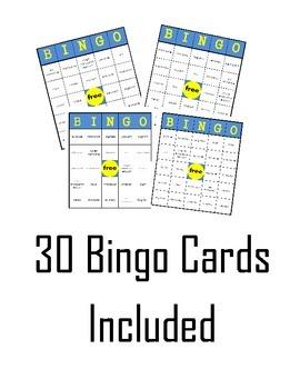 Cell Bingo