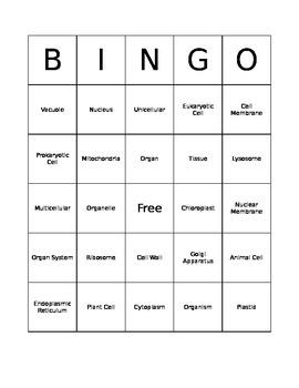 Cell Bingo - Complete Set