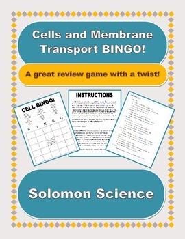 Cell Biology BINGO!