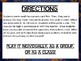 Cell Science Biology Escape Review Task Card Game Activity