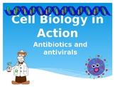 Cell Biology in Action: Antibiotics and antivirals (Presentation)