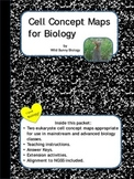 Cell Concept Maps for Biology