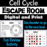 Cell Cycle Activity: AP Biology Escape Room Science (Mitosis and Meiosis)