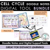 Cell Cycle/Mitosis Doodle Notes + Google Tools for Distanc