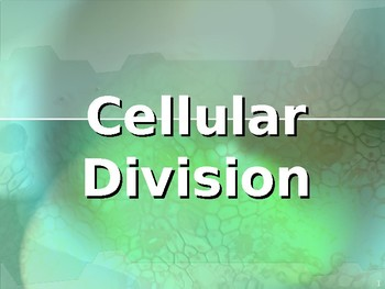 Cell Cycle and Cell Division Power Point