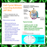 Cell Cycle and Mitosis Lesson Activities for AP Biology