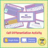 Cell Differentiation Activity DISTANCE LEARNING